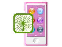 iPod nano 7th Gen Front Glass Repair