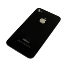 Genuine Apple iPhone 4 Glass Rear Case & Mounting Frame (Black)
