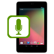 Nexus 7 Top Microphone Repair