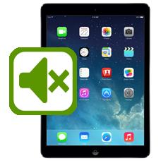 iPad Air Mute Button Repair