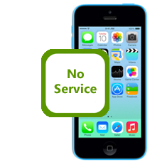 iPhone 5c No Service Fault Fix