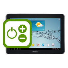 Samsung Galaxy Tab 2 10.1 Volume and Power Buttons Repair