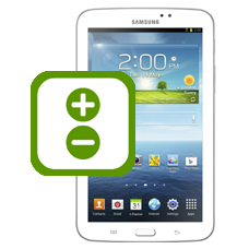 Samsung Galaxy Tab 3 7.0 Volume Buttons Repair