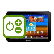 Samsung Galaxy Tab 8.9 Volume and Power Buttons Repair