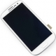 White Samsung Galaxy i9300 S3 LCD Digitizer Touch Screen Display Frame