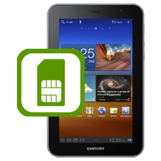 Galaxy Tab 7 inch Plus SIM Socket / SIM Reader Repair