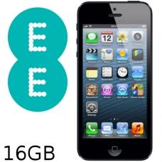 iPhone 5 16GB EE Network (Slate / Black) Grade B