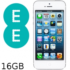 iPhone 5 16GB EE Network (Silver / White) Grade B
