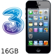 iPhone 5 16GB Three Network (White / Silver)