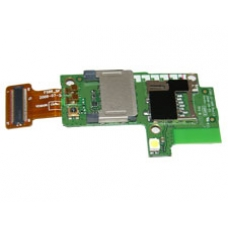 iPAQ Data Messenger Sim Card & Micro SD Card Board Assembly