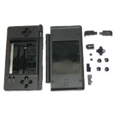 Black Replacement Case for the Nintendo DS Lite