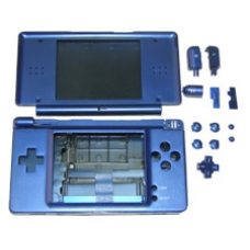 Metallic Blue Replacement Case for the Nintendo DS Lite