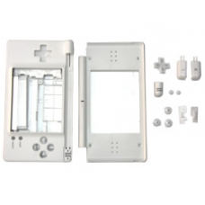 White Replacement Case for the Nintendo DS Lite