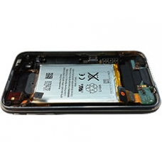iPhone 3G 8GB Black Complete Back Cover Assembly