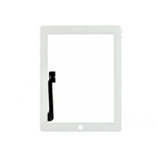 iPad 4 Touch Screen Glass (White)
