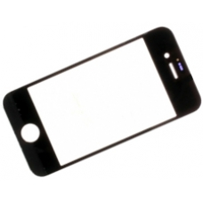 iPhone 4 Front Gorilla Glass Screen Lens Cover Original Black