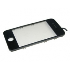 iPhone 4 Touch Screen Digitizer & Outer Frame (Black)