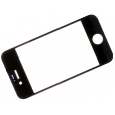 iPhone 4S Front Gorilla Glass Screen Lens Original Black