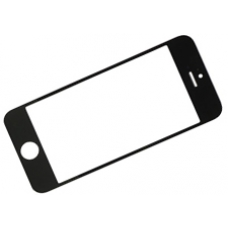 iPhone 5s Gorilla Glass Front Panel Replacement Black