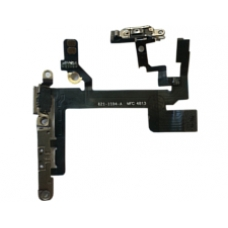 iPhone 5s Power and Volume Flex Cable With Switches and Internal Metal Fastenings
