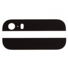 Apple iPhone 5s Rear Glass Panel Plates Black